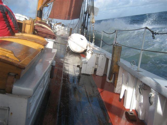 agterdæk på skib